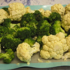 Lemon Garlic Broccoli and Cauliflower Recipe