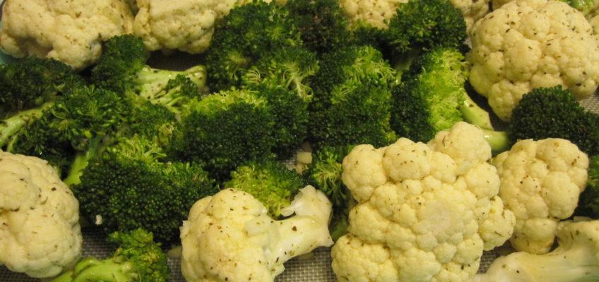Lemon Garlic Broccoli and Cauliflower Recipe
