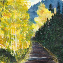 Autumn Mountain Road