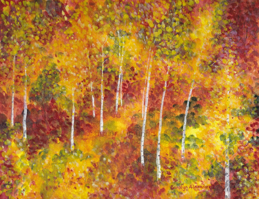 Autumn Trees Carolyn Almendarez