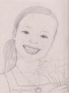 Flower Girl by Carolyn Almendarez