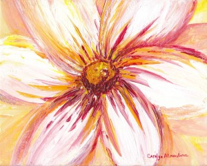 White Daisy Carolyn Almendarez