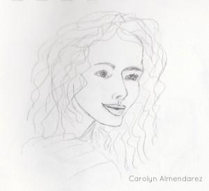 Woman's Face Carolyn Almendarez