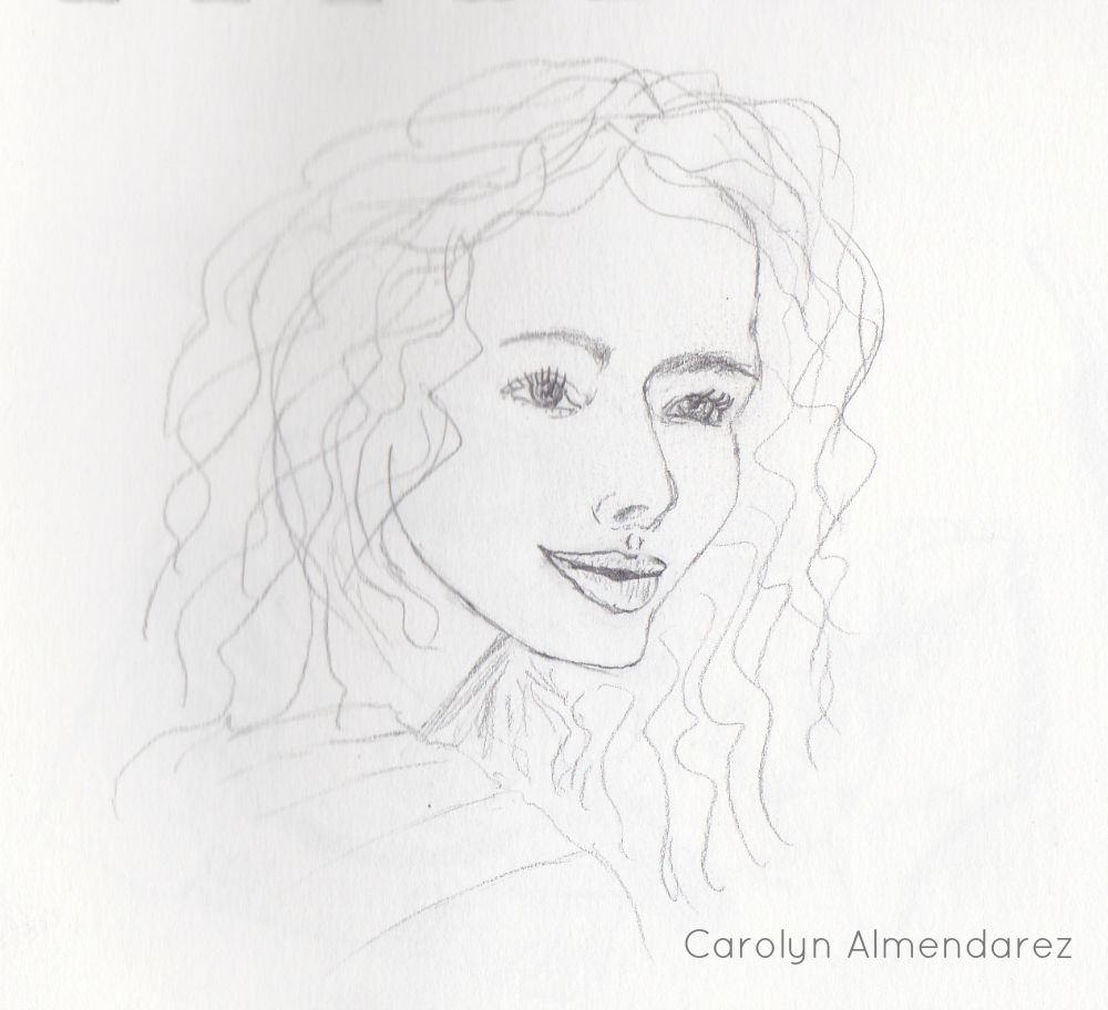 Woman's Face Carolyn Almendarez